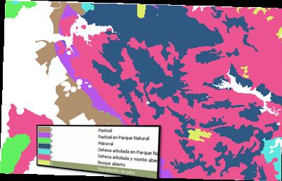 Mapa de distribución de combustibles.