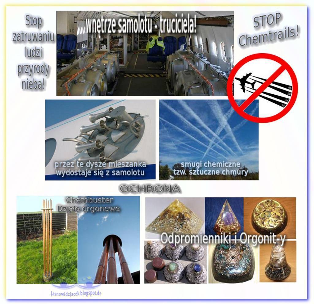 Stop Chemtrails HAARP GMO Szczepionkom Fluorowi Chlorowi Aspartamowi