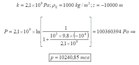 Ejercicio resuelto de estatica de fluidos formula 7 problema 2