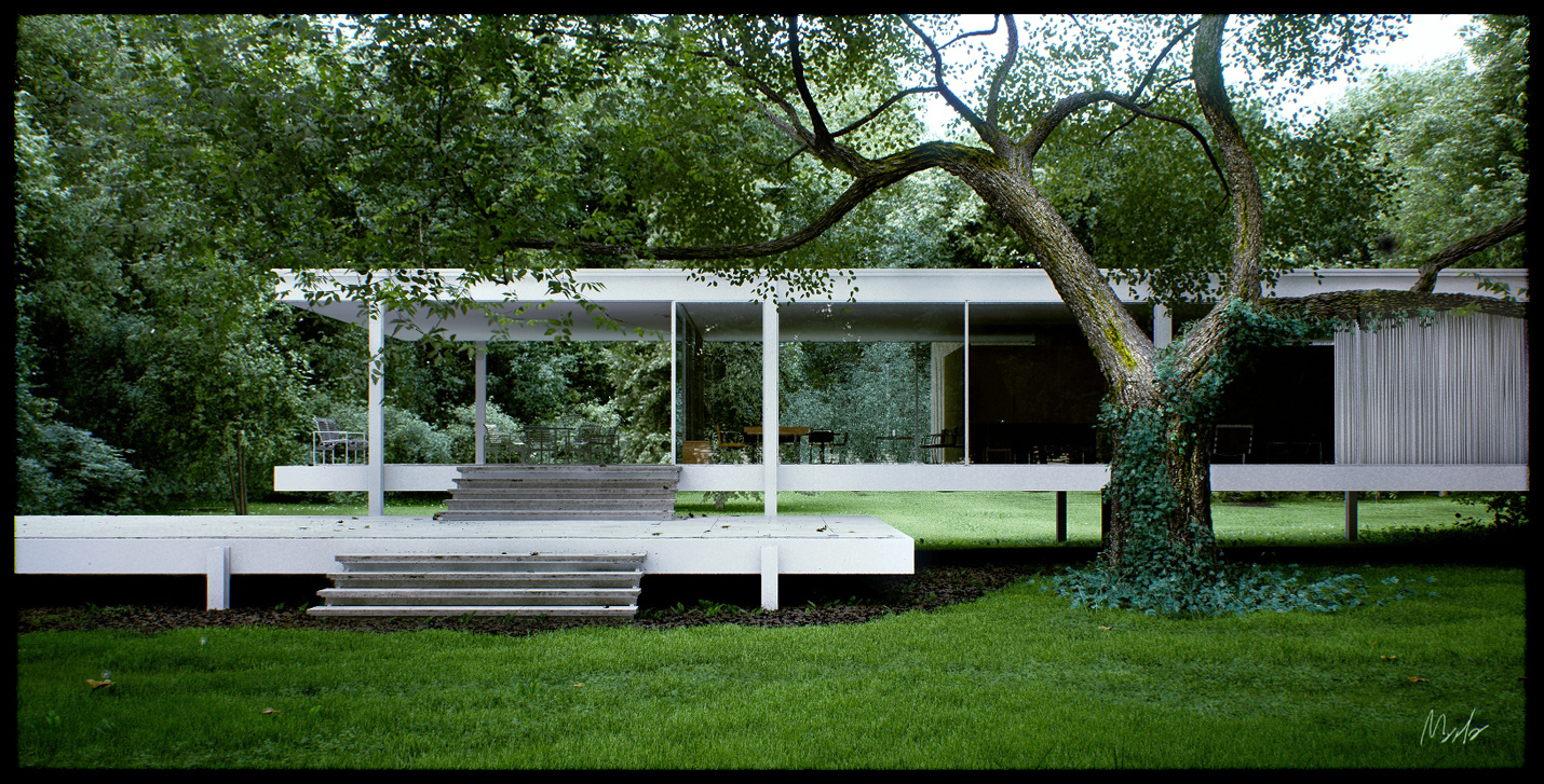 Stay out the farnsworth house for The farnsworth