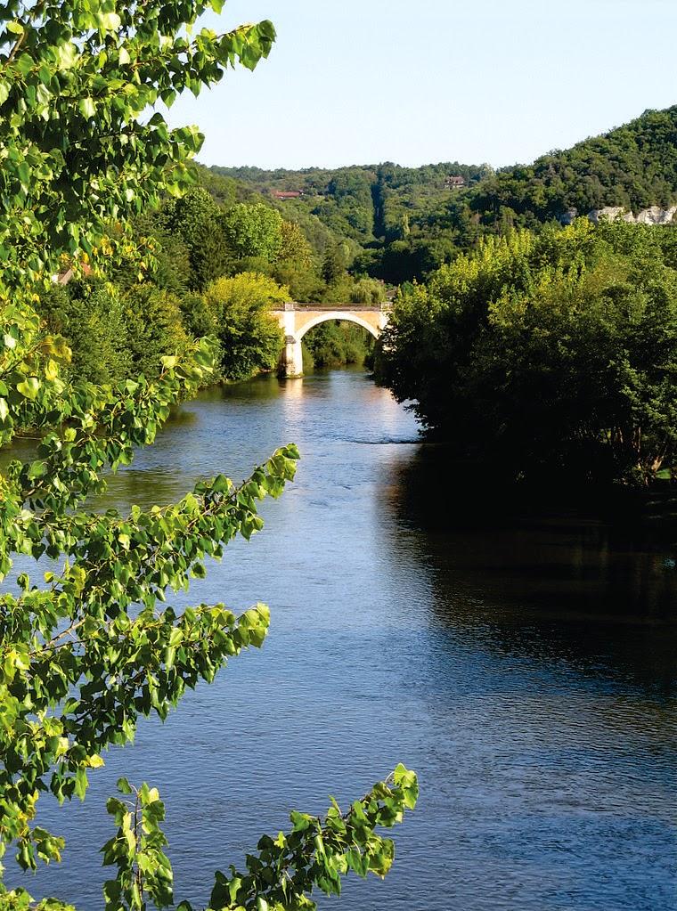 La Vézère à Les Eyzies-de-Tayac-Sireuil
