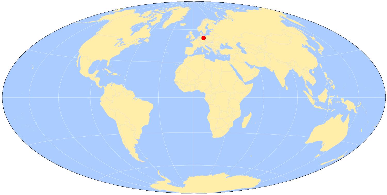 Berlin Map World - Berlin on world map
