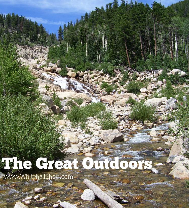 Mountain Waterfall - Alluvial Fan in Rocky Mountain National Park