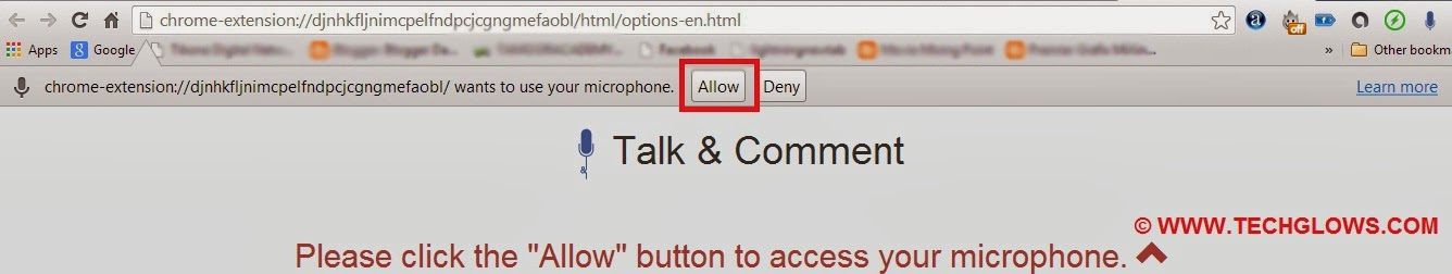 grant+access+to+talk+and+comment+chrome+extension+for+fb+audio+comments