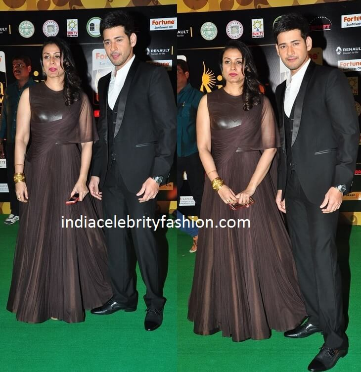 Mahesh Babu and Namrata Shirodkar at IIFA Utsavam