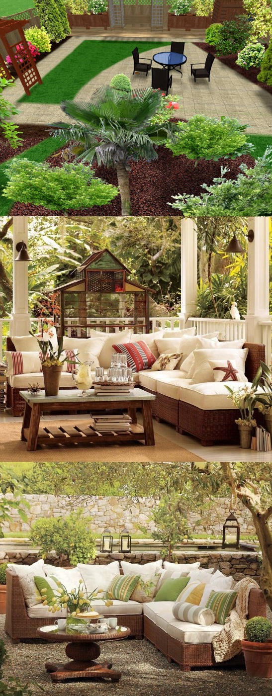 Garden decor ideas home decorating ideas for Home garden decoration ideas