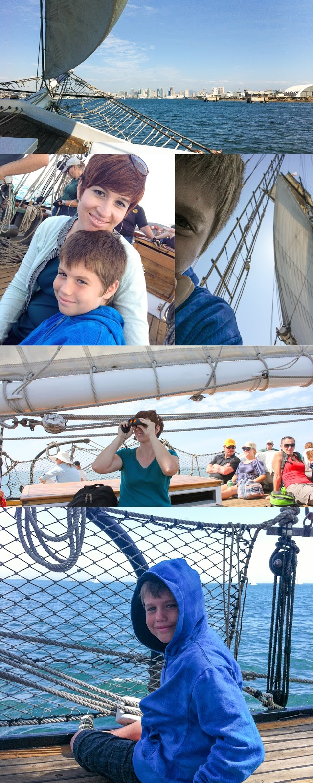 homeschool field trip in san diego aboard the californian tall ship