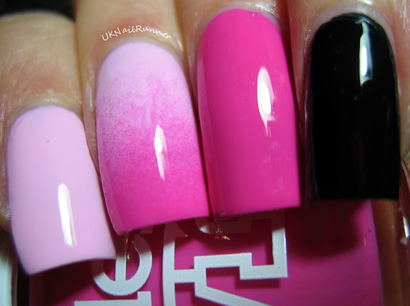 Models Own Hypergel Pink Veneer and Cerise Shine