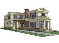 Diseño - dibujo de casa 3D