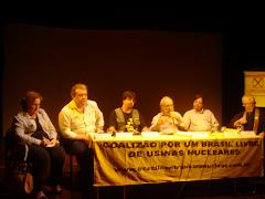 Coletiva de Esclarecimento sobre os  depósitos de lixo nuclear no Brasil e suas consequencias.