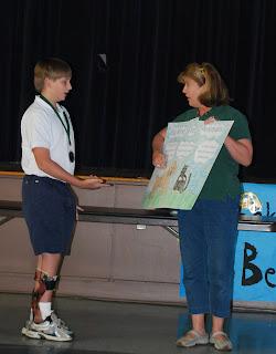 Montgomery Catholic Preparatory School Sixth Grader Wins Humane Society Poster Contest 1