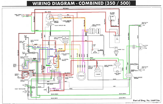 Royal enfield wiring diagram free engine image