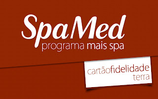Spa Med presenteia seus clientes com o cartão fidelidade