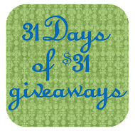 Erica&#39;s 31 day&#39;s of Giveaways!