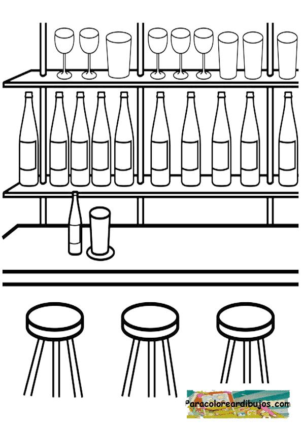 Bar para colorear