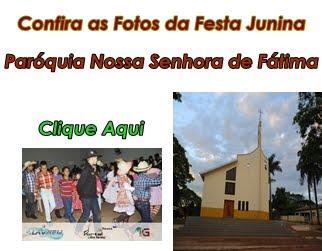 Confira as Fotos da Festa Junina