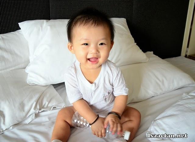 Smile Baby Martin, smile.