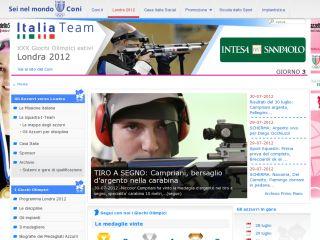 Azzurri Olimpiadi Londra 2012