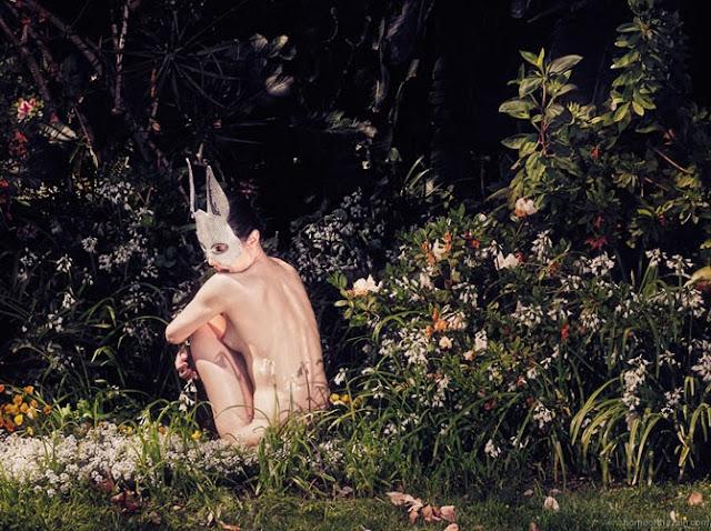 Fetish Inspiration : Bunny Mask By Heather Huey