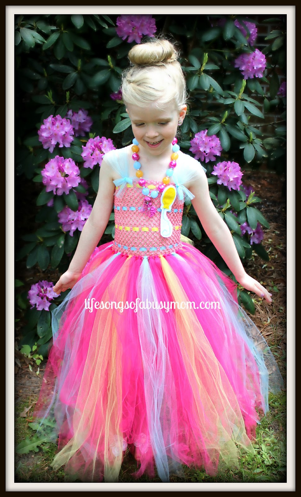 Kimberlyu0027s Creations Pinkie Pie Tutu Dress Review u0026 Giveaway  sc 1 st  Life Songs Of A Busy Mom & Life Songs Of A Busy Mom: Kimberlyu0027s Creations Pinkie Pie Tutu Dress ...