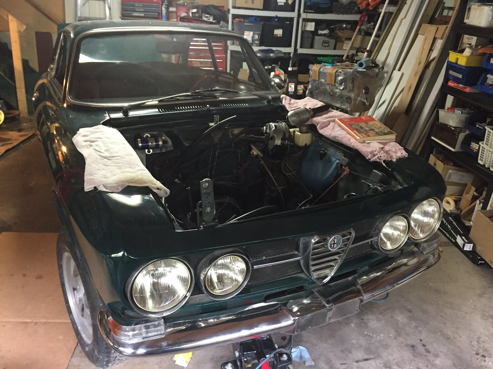 1969 Alfa Romeo 1750 GTV Restoration May 2017