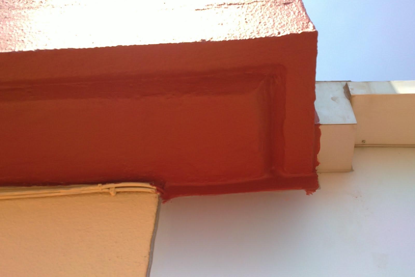 Construcciones y reformas reparaci n goteras mediante - Sika pintura impermeabilizante ...