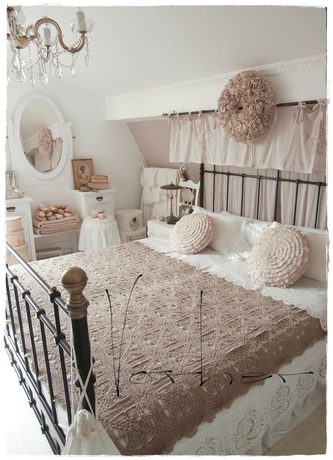 Shabby Landhaus: Neues Schlafzimmer.....