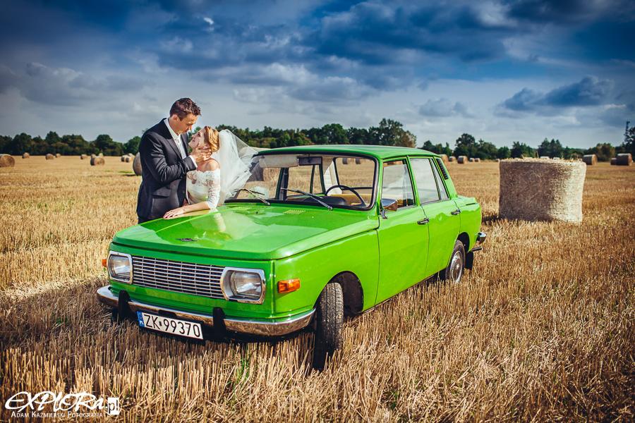 Anna i Mateusz - plener ślubny Koszalin
