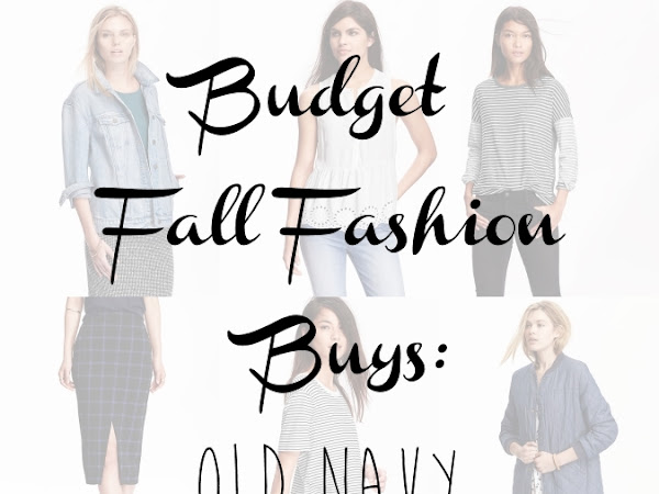 Budget Fall Fashion Buys: Old Navy