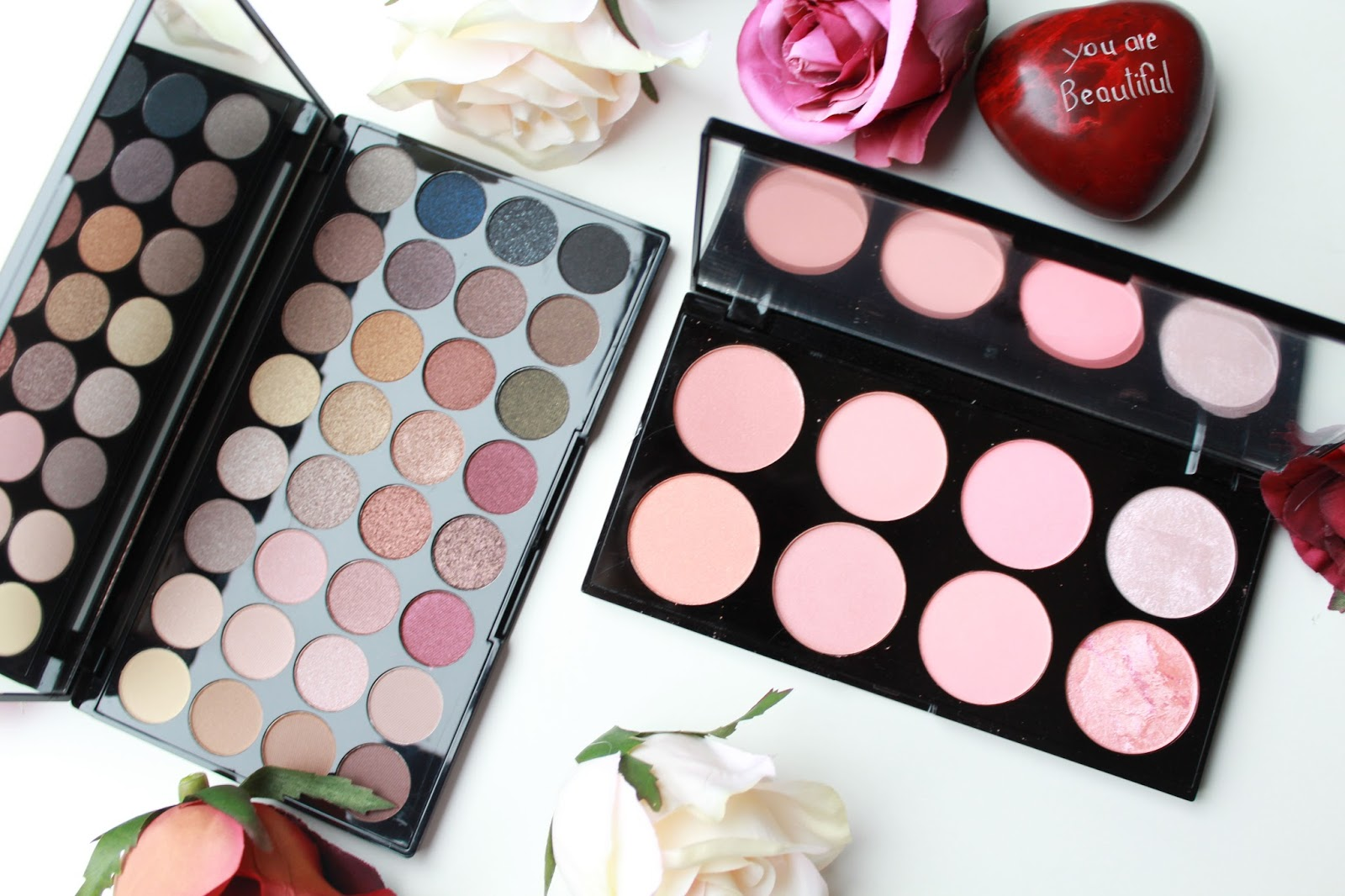 The Makeup Revolution Eyeshadow and Contour Palettes