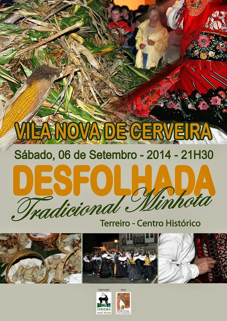 Desfolhada Tradicional Minhota em Vila Nova de Cerveira