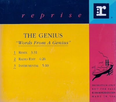 The Genius – Words From A Genius (CDS Promo) (1991) (320 kbps)