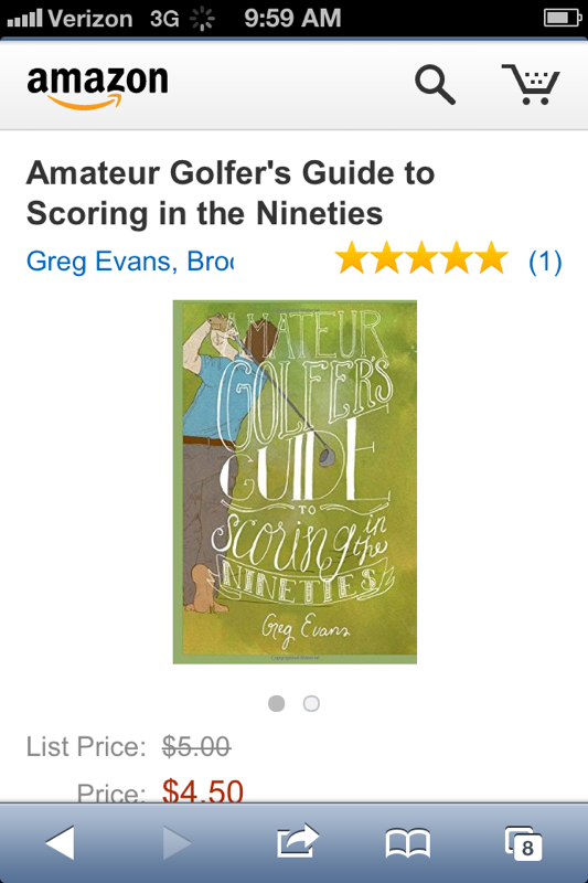 AMATEUR GOLFER'S GUIDE TO SCORING IN THE NINETIES