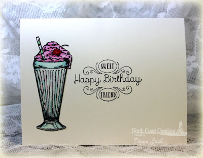 North Coast Creations Stamp sets: Ice Cream Shoppe