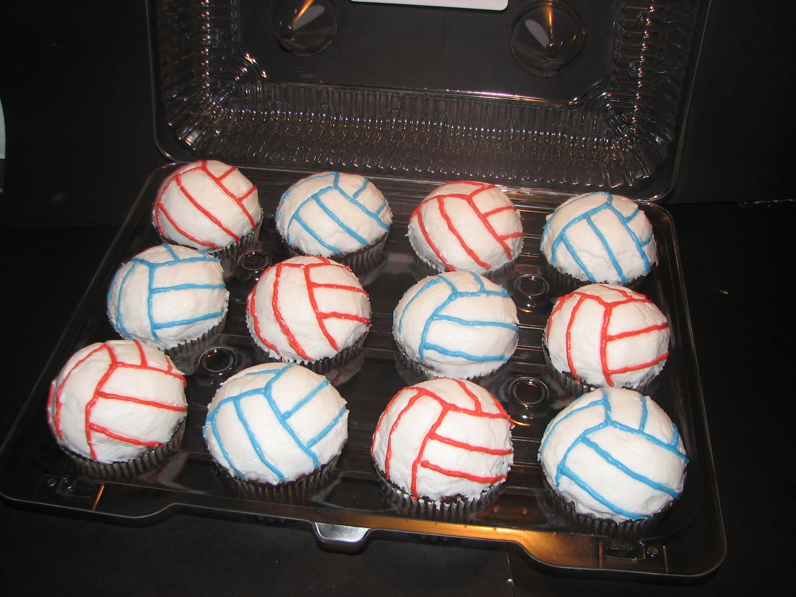 ... color your volleyballs with your teams colors up to 3 colors total