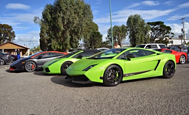 Supercars Gathering In Mexico Carsfresh