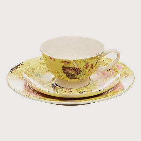 Butterfly Home Range by Matthew Williamson peacock tea cup