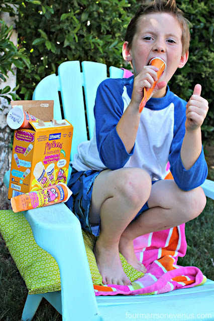 Kids approve! ProBugs Frozen Kefir Treats!