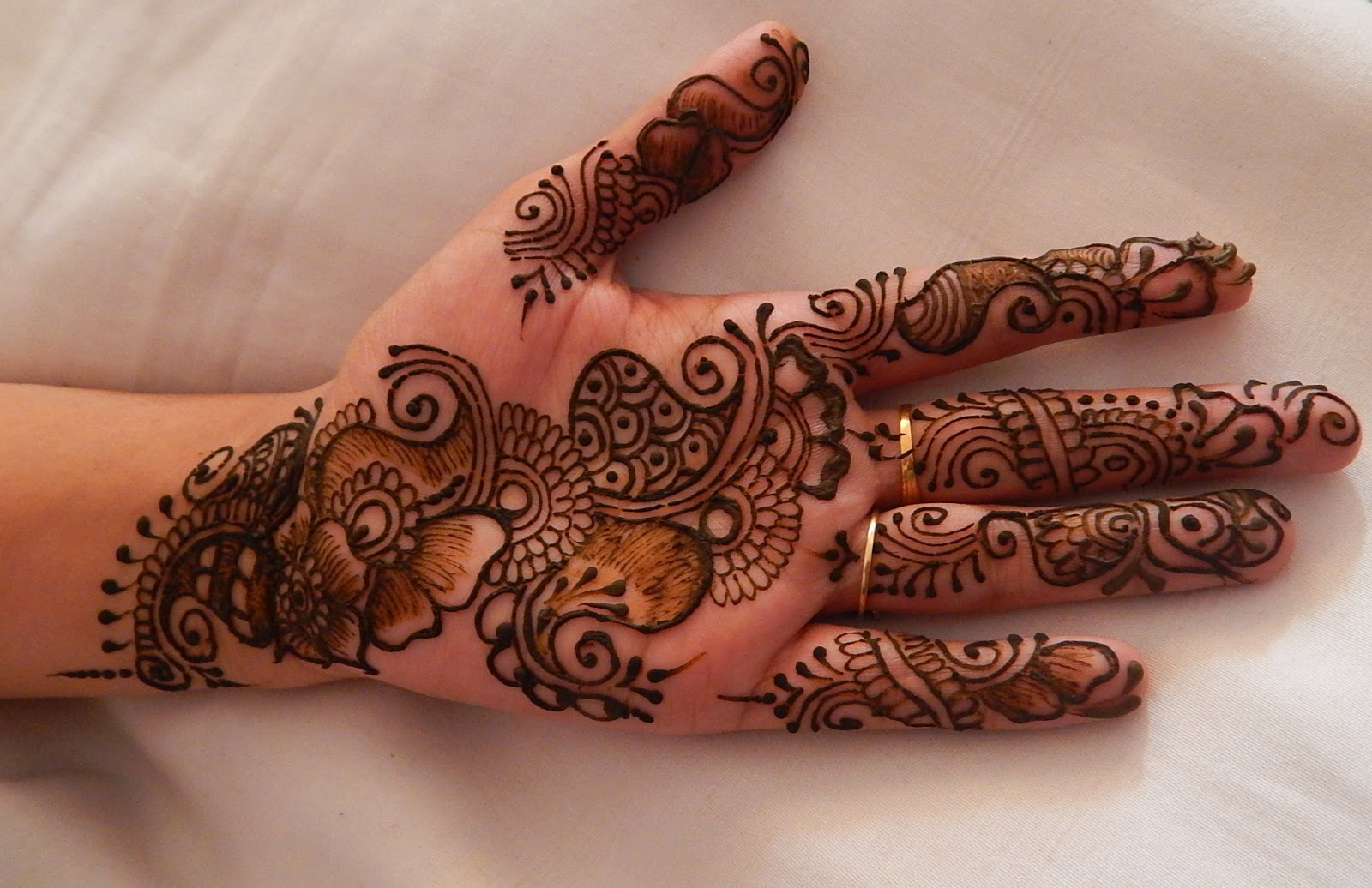 Mehndi Designs For Fingers Step By Step : Get started with mehndi: step by mehndi