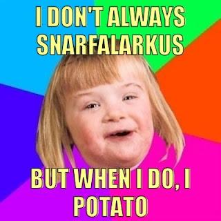 I don't always potato