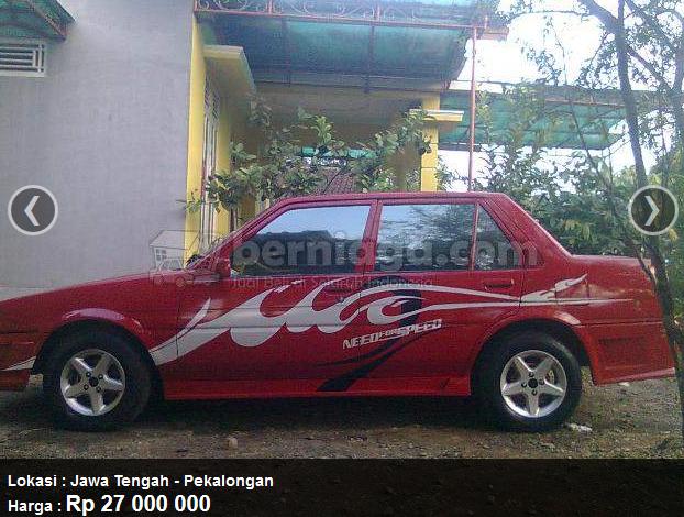 Jual Toyota Corolla GL 1985, Rp 27 juta, Jawa Tengah, di Berniaga.com