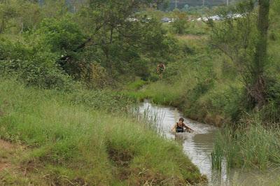 Spartan Race. Avanzando entre río y fango