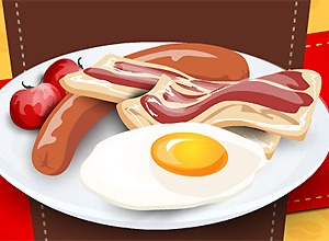 Cooking Eggs With Bacon