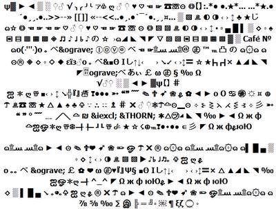 أجعل موضوعك أو أسمك أكثر جمالااا مع هذه الحروف المزخرفة