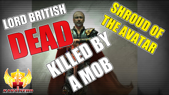 Lord British Dead ★ Killed By A MOB ★ Shroud Of The Avatar Release 21 ★ End Of Summer Telethon