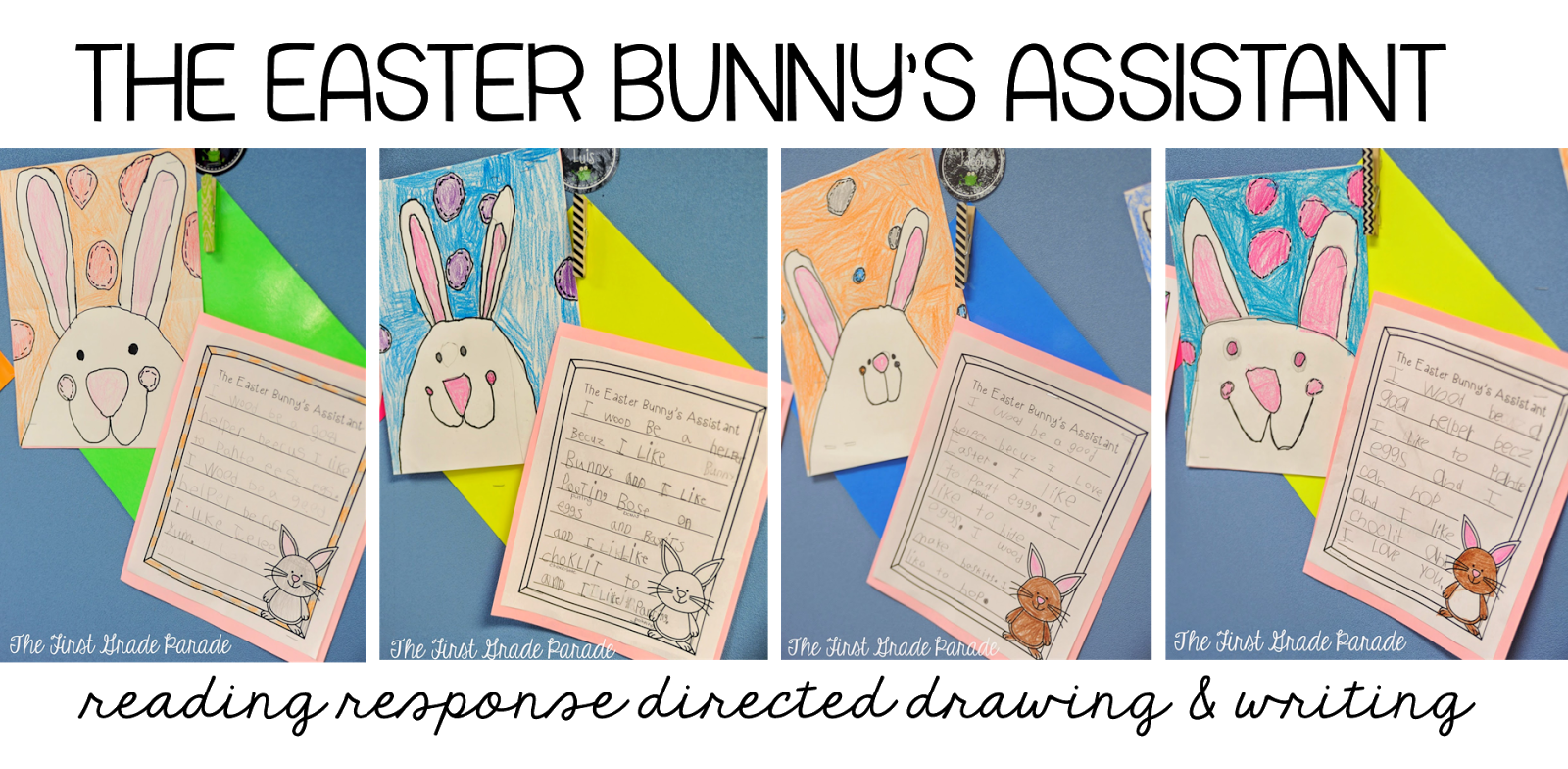 Easter Freebie and A Few Ideas - The First Grade Parade