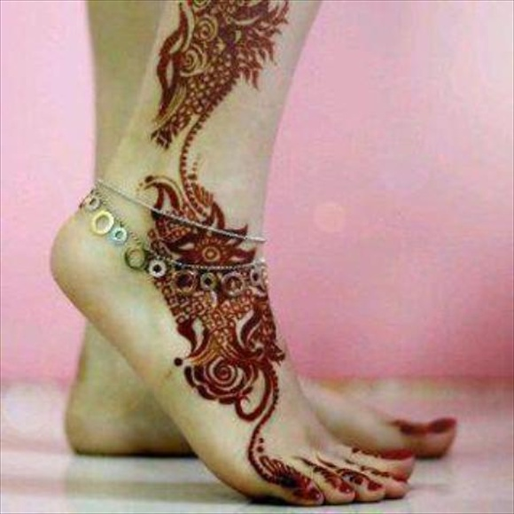 bridal mehndi image