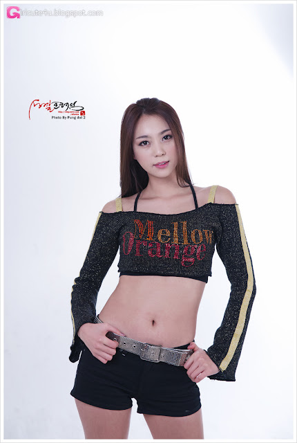 4 Ju Da Ha - Mellow Orange-very cute asian girl-girlcute4u.blogspot.com