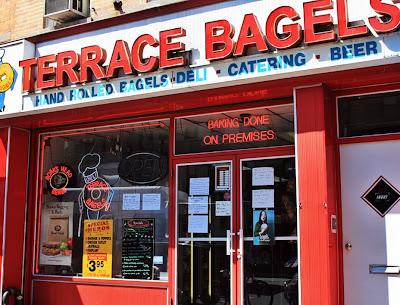 Terrace Bagels in Brooklyn