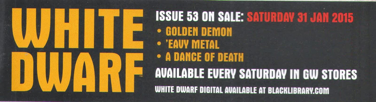 Adelanto de la White Dwarf 53